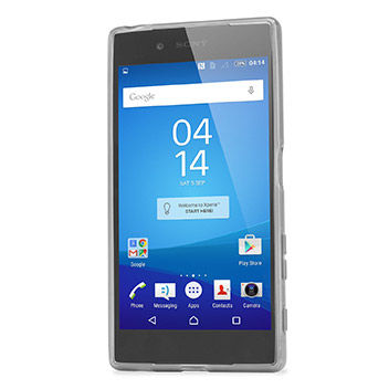 FlexiShield Sony Xperia Z5 Case - Frost White