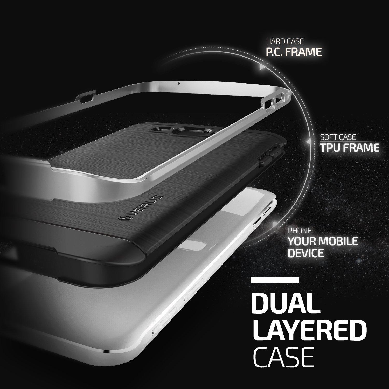 Verus High Pro Shield Series Samsung Galaxy A8 - Light Silver