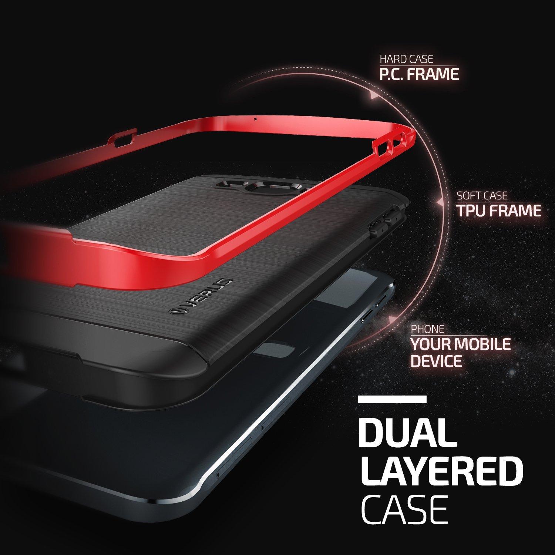 Verus High Pro Shield Series Samsung Galaxy A8 - Crimson Red