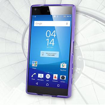 FlexiShield Sony Xperia Z5 Compact Case - Purple