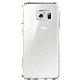 Spigen Ultra Hybrid Samsung Galaxy S6 Edge Plus Case - Crystal Clear