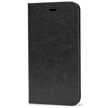 Olixar Leather-Style iPhone 6S Plus / 6 Plus Wallet Stand Case - Black