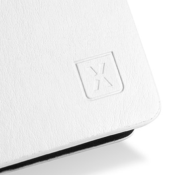 Olixar Leather-Style Sony Xperia Z5 Premium Wallet Stand Case - White