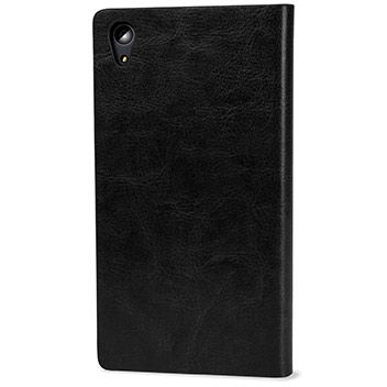 Olixar Leather-Style Sony Xperia Z5 Premium Wallet Stand Case - Black