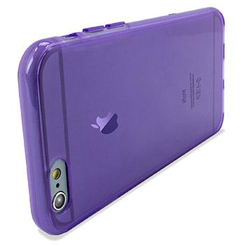 FlexiShield iPhone 6S Gel Case - Purple