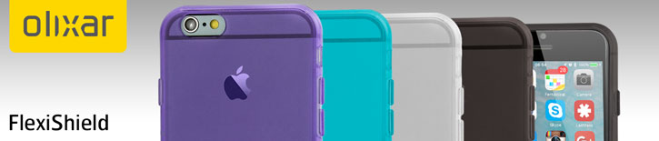 FlexiShield iPhone 6S Gel Cases - 4 Pack