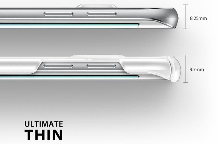 Rearth Ringke Slim Samsung Galaxy S6 Edge Plus Case - Frost White