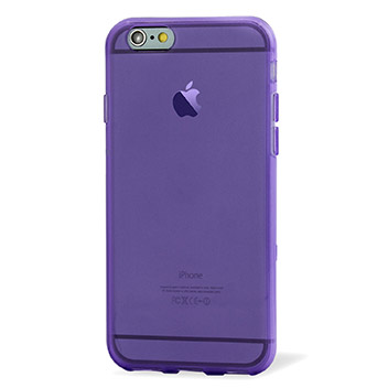 FlexiShield iPhone 6S Plus Gel Case - Purple