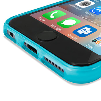 FlexiShield iPhone 6S Plus Gel Case - Light Blue