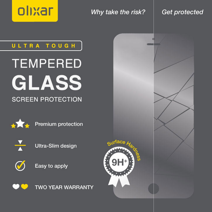 Olixar iPhone 6S Tempered Glass Screen Protector
