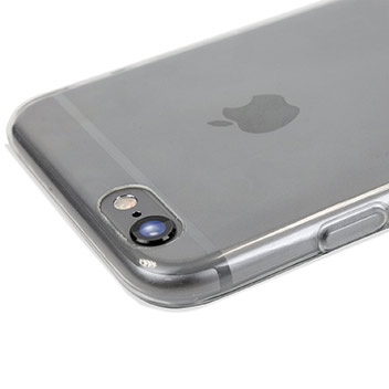 Ultra-Thin FlexiShield iPhone 6S Plus Gel Case - 100% Clear