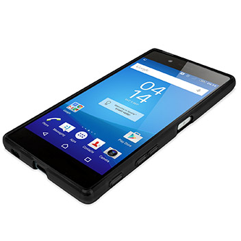flexishield sony xperia z5 premium case   solid black