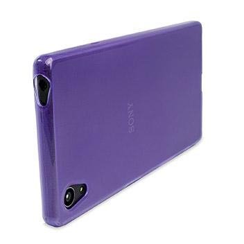 FlexiShield Sony Xperia Z5 Premium Case - Purple