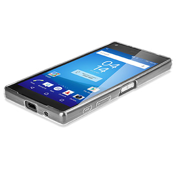 FlexiShield Ultra-Thin Sony Xperia Z5 Compact Gel Case - 100% Clear