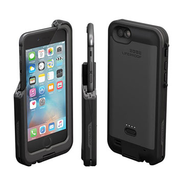 LifeProof Fre Power iPhone 6S / 6 Waterproof Battery Case - Black