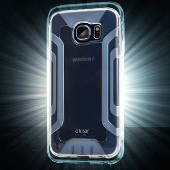 FlexiGrip Samsung Galaxy S6 Gel Case - 100% Clear