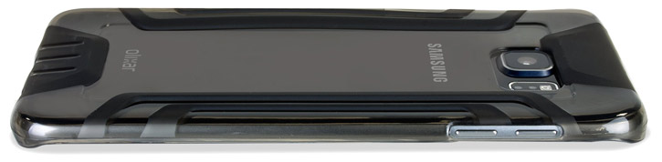 FlexiGrip Samsung Galaxy S6 Edge Plus Case - Smoke Black