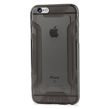 FlexiGrip iPhone 6S Plus / 6 Plus  Gel Case - Smoke Black