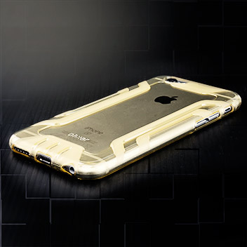 FlexiShield Anti-Slip iPhone 6S / 6 Gel Case - Gold