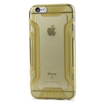 FlexiGrip iPhone 6S Plus / 6 Plus Gel Case - Gold