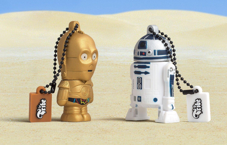 Star Wars R2D2 8GB USB Flash Drive Keyring