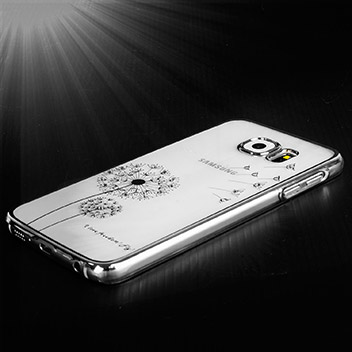 Olixar Dandelion Samsung Galaxy S6 Shell Case - Silver / Clear