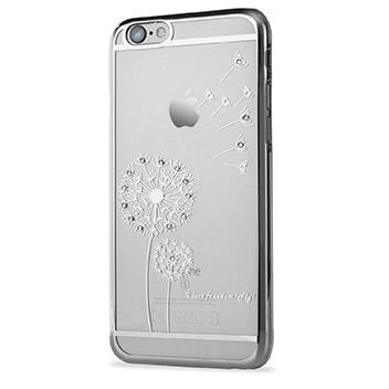 Olixar Dandelion iPhone 6S Plus / 6 Plus Shell Case - Silver / Clear