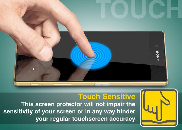 Olixar Sony Xperia Z5 Tempered Glass Screen Protector