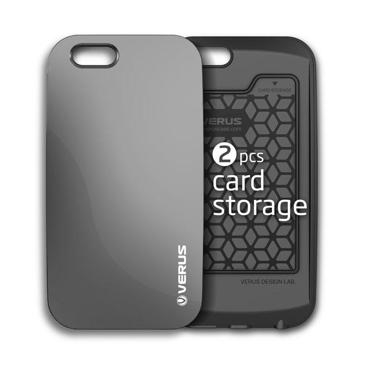 Verus Crystal Bumper iPhone 6S / 6 Case - Black