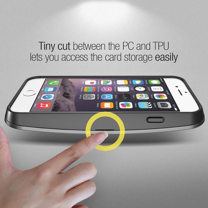 Verus Crystal Bumper iPhone 6S / 6 Case - Silver