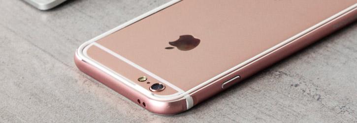 x doria bump gear iphone 6s bumper case   rose gold
