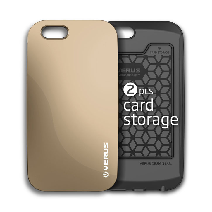 Verus Crystal Bumper iPhone 6S / 6 Case - Gold