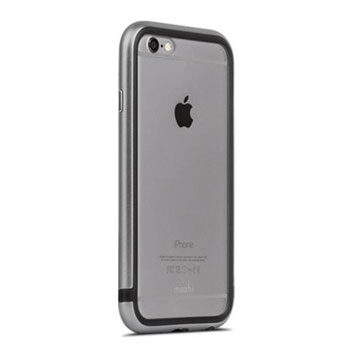 Moshi iGlaze Luxe iPhone 6S Bumper Case - Space Grey
