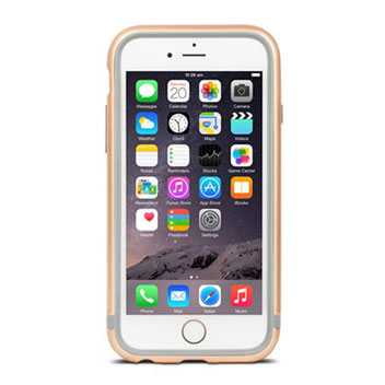 Moshi iGlaze Luxe iPhone 6S Bumper Case - Champagne Gold