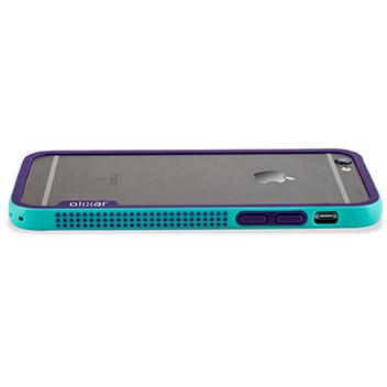 Olixar FlexiFrame iPhone 6S Bumper Case - Blue
