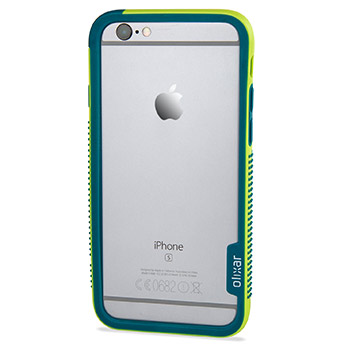 Olixar FlexiFrame iPhone 6S Bumper Case - Green