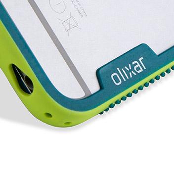 Olixar FlexiFrame iPhone 6S Plus Bumper Case - Green