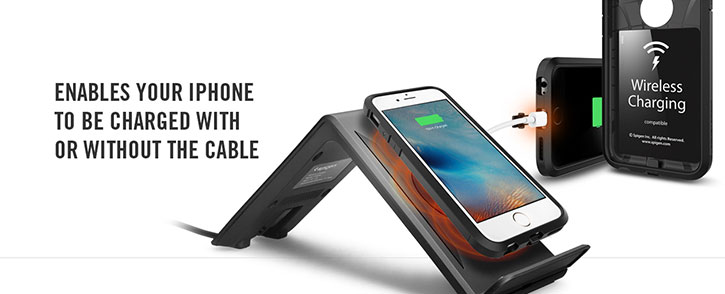 Spigen Tough Armor Volt iPhone 6S Wireless Charging Case