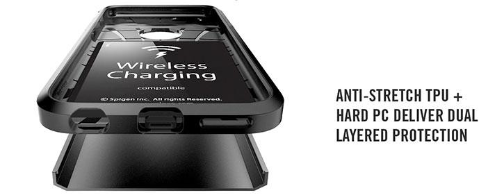 new concept 2d018 c1797 Spigen Tough Armor Volt iPhone 6S Wireless Charging Case