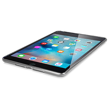 FlexiShield iPad Mini 4 Gel Case - Frost White