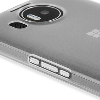 FlexiShield Microsoft Lumia 950 XL Gel Case - Frost White