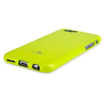 Mercury Goospery Jelly iPhone 6S / 6 Gel Case - Lime