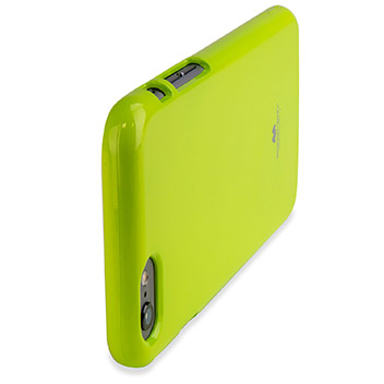 Mercury Goospery Jelly iPhone 6S / 6 Gel Case - Lime