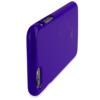 Mercury Goospery Jelly iPhone 6S / 6 Gel Case - Purple