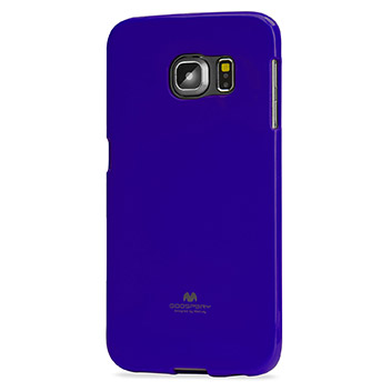 Mercury Goospery Jelly Samsung Galaxy S6 Edge Gel Case - Purple