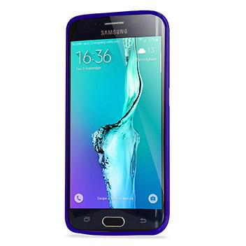 Mercury Goospery Jelly Samsung Galaxy S6 Edge Plus Gel Case - Purple