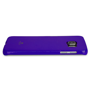 Mercury Goospery Jelly Samsung Galaxy S6 Edge Plus Gel Case - Purple