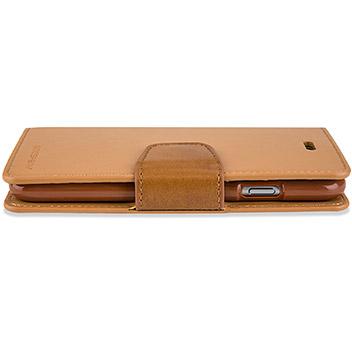 Mercury Sonata Diary iPhone 6S Plus / 6 Plus Wallet Case - Camel