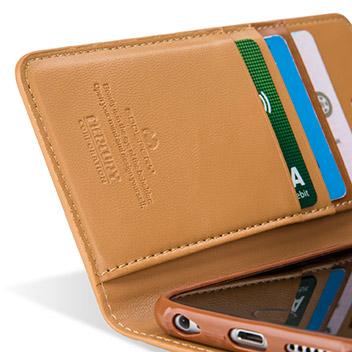 Mercury Sonata Diary iPhone 6S Plus / 6 Plus Premium Wallet Case - Camel