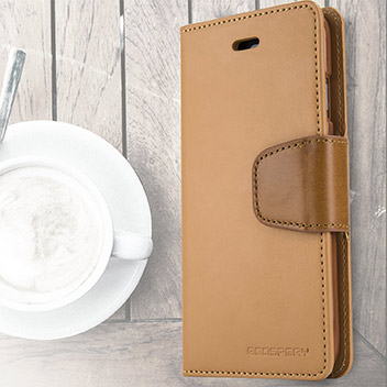 Mercury Sonata Diary iPhone 6S Plus / 6 Plus Wallet Case - Camel